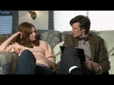 DW - Matt Smith Interviews Karen Gillan