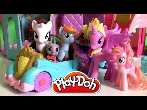 Play Doh Princess Celebration Cars My Little Pony Friendship Is Magic Dolls By Disney Collector Toys video