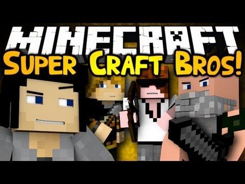 Minecraft: Mini Game: Super Craft Bros Brawl!
