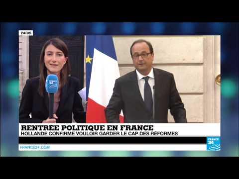 France : La difficile rentrée du gouvernement