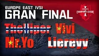TORNEO 60K U$D - LA GRAN FINAL EVENTO 1V1 - THEVIPER, LIEREYY, MR. YO Y VIVI !