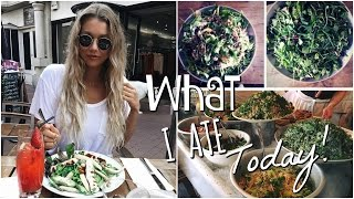 What I Ate Today // Vegetarian