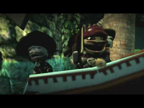 LittleBigPlanet (PS3) - Pirates of the Caribbean Premium Level Kit trailer