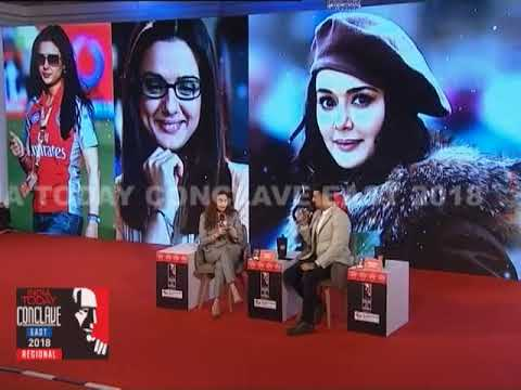 Preity Zinta Talks About Shah Rukh, Lalit Modi And The IPL   IT Conclave East 2018 thumbnail