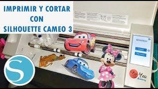 Imprimir y Cortar con Silhouette CAMEO 3. ( Vídeo tutorial ) en español.