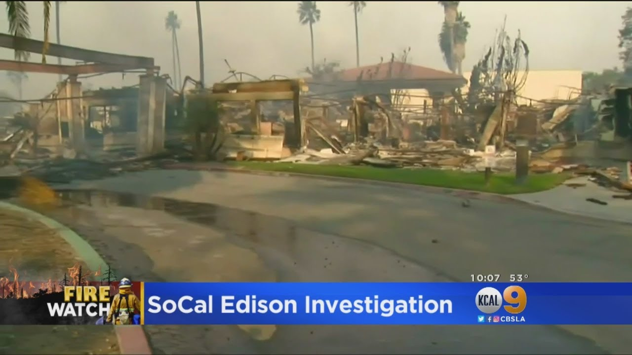 SoCal Edison Under Scrutiny For Possible Cause Of Wildfire