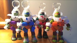 TMNT Dimension X Turtles Action Figures Toy Review
