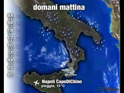 Meteo ITALIA del 29/04/2011