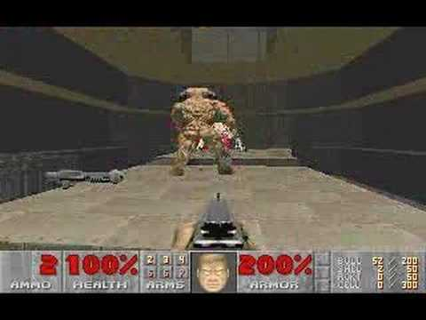 Doom 2 - Cyberdemon Vs. Spider Mastermind