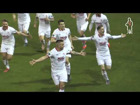 Goal: Mikey Drennan (vs Sligo Rovers 22/02/2019)