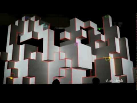 Leviathan Creates Projection Art for Amon Tobin Tour using Maya and 3ds Max