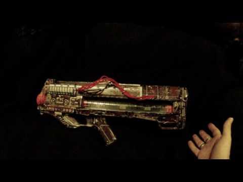 Custom Nerf Zeus Concept Gun Summary (cosmetic and internal modified blaster)
