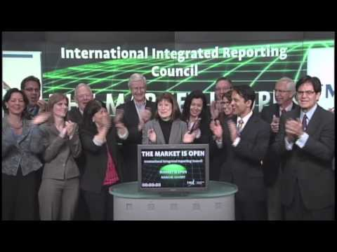 The International Integrated Reporting Council (IIRC) opens Toronto Stock Exchange, April 16, 2013