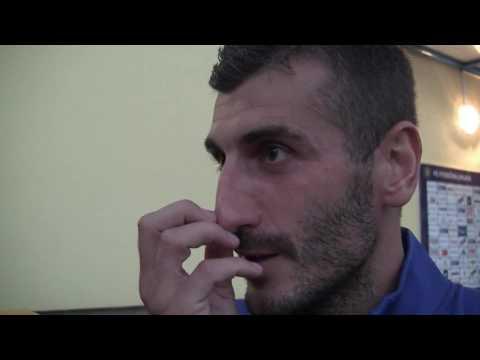Rozhovory po utkání v Jihlavě (26.8.2016)