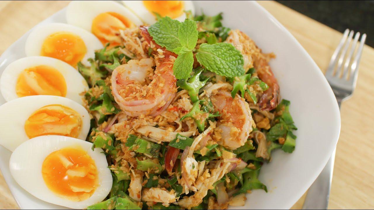 wing bean salad hot thai kitchen youtube