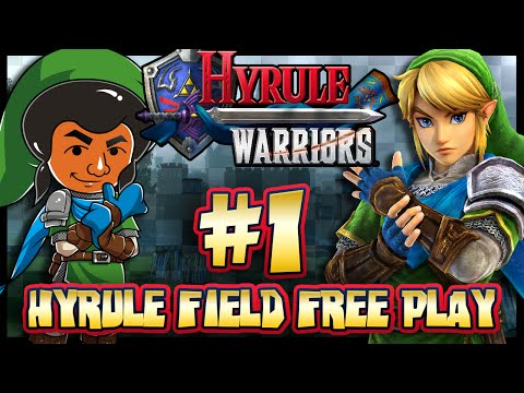 Hyrule Warriors - (1440p) Part 1 - Hyrule Field Free Play