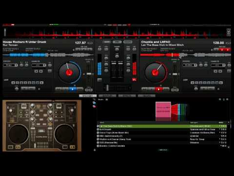 Virtual Dj & Hercules Dj Control - Basic Music Mixing