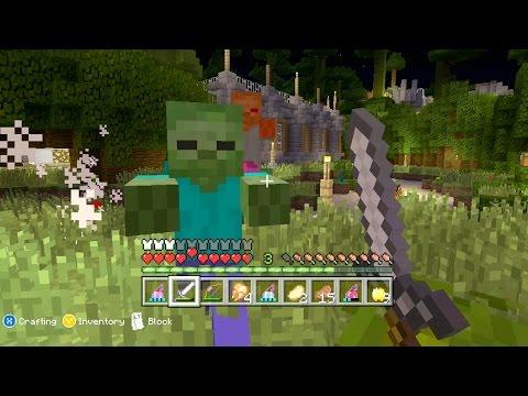 Minecraft Xbox Deadland Too Many Zombies {2}