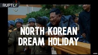 Kim opens spa complex where North Koreans will spend their winter holidays!