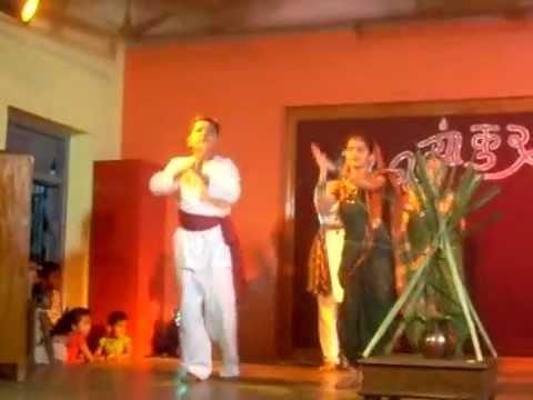 Master Shubham Khairnar (DANCE) gondhal.... Ude ga Ambe Ude.