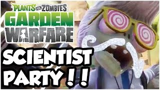 Plants vs. Zombies Garden Warfare - SCIENTIST PARTY!! ft. ZackScott & MasterOv (XB1 1080p HD)