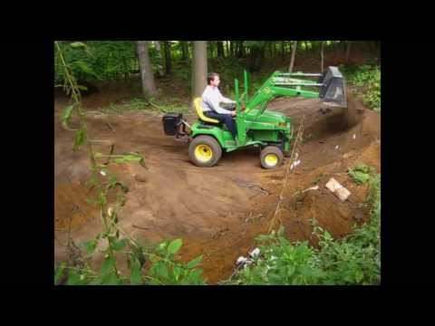 John Deere 455 with loader