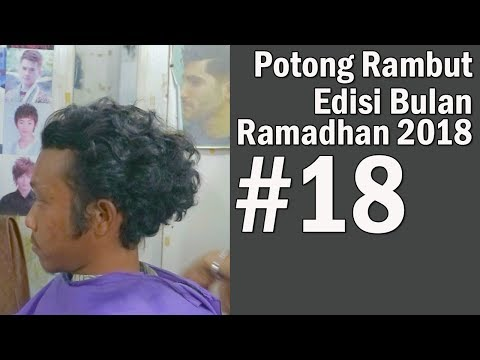 GAYA PRIA RAMBUT KERITING 2018 ( Step by Step ) INDONESIA