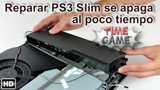 PS3 slim de 120gb se apaga sola