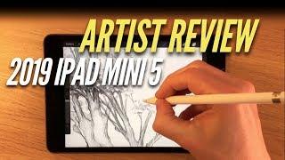 2019 iPad mini 5 - Artist review