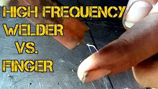 TFS: High Frequency TIG Welder Vs. Finger