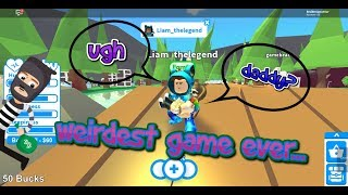 Funny Moments: THE WEIRDEST ROBLOX GAME EVER.... (Short Funny Moments Montage)
