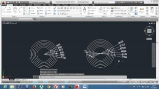 5-)Circle ve Move / AutoCAD Education /