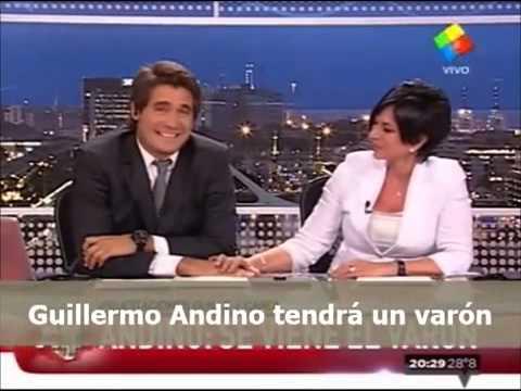 La mejor noticia Guillermo Andino será padre de un varón