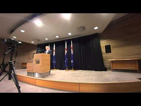 Prime Minister John Key. Post Cabinet Press Conference 17/08. P.1