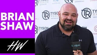 BRIAN SHAW Dishes on HEAVIEST Weights and Training !!