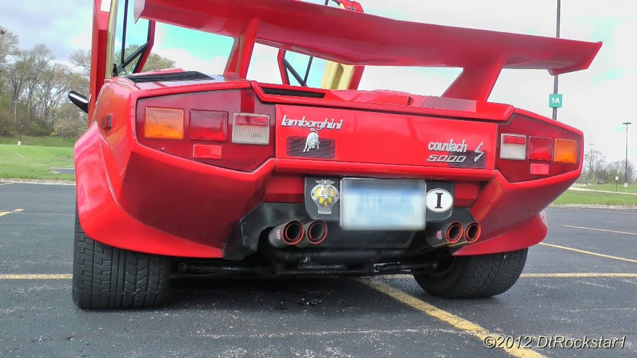 Lamborghini Countach Ride Youtube