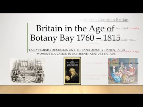 Britain in the Age of Botany Bay Assessment