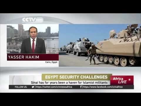 13 Egyptian policemen die in Saturday's attack