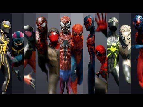 The Amazing Spider-Man 2 | Guía de Trajes Desbloqueables.