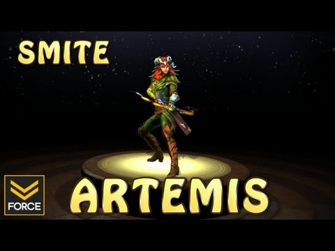 SMITE: ARTEMIS (Gameplay)