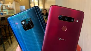 LG V40 Vs. Huawei Mate 20 Pro Wide-Angle Lens Shootout