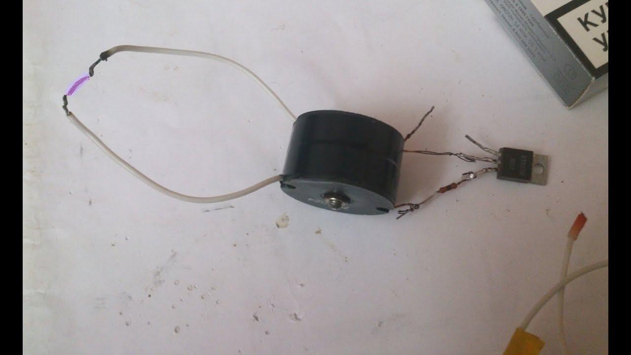 Понижающий трансформатор на ферритовом кольце своими руками 47