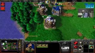 Warcraft III #151 - MiCHae1 Human vs Undead (Echo Isle)