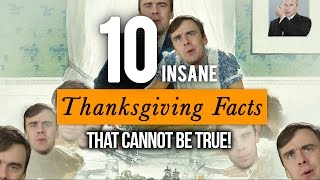 10 Thanksgiving Facts That Can't Be True