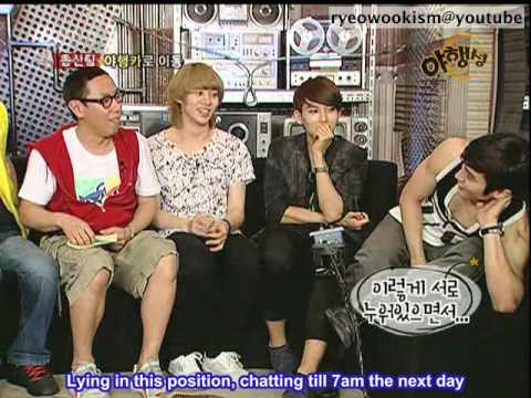 [eng sub] 100620 LNV World Cup special - Ryeowook cuts