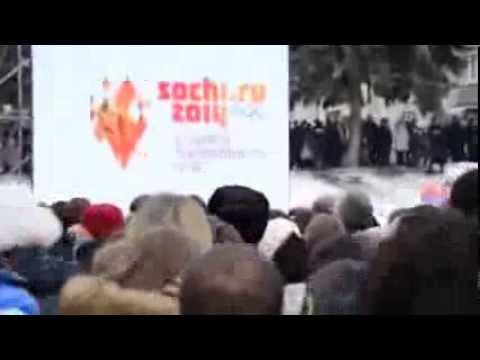 ПЯТИГОРСК ОЛИМПИЙСКИЙ ОГОНЬ 2014