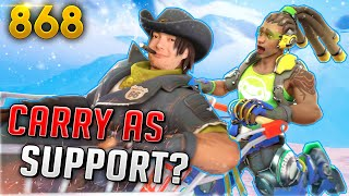 Dafran: You CAN'T Carry AS SUPPORT!! | Overwatch Daily Moments Ep.868 (Funny and Random Moments)