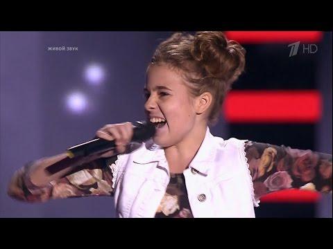 The Voice Kids Russia 2016. Maria (Мария Паротикова) — «Вдоль по Питерской». Голос Дети 3