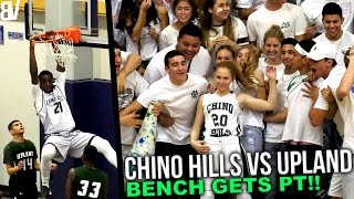 Chino Hills BLOWOUT Win VS Upland! Bench Plays A Full Quarter.. | FULL HIGHLIGHTS