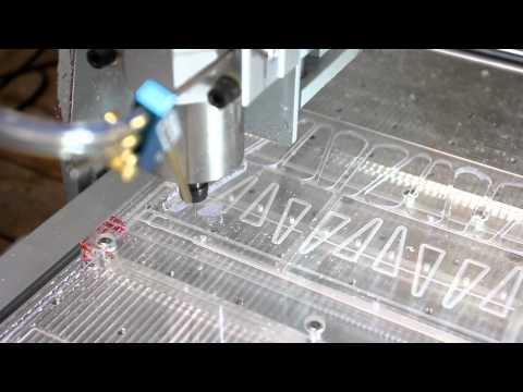 CNC 6040 Milling on Vacuum Table